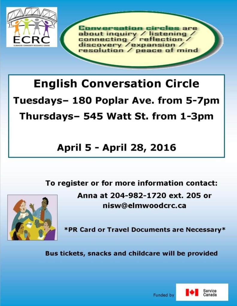 Newcomer Conversation Circle 2016-ECRC-2